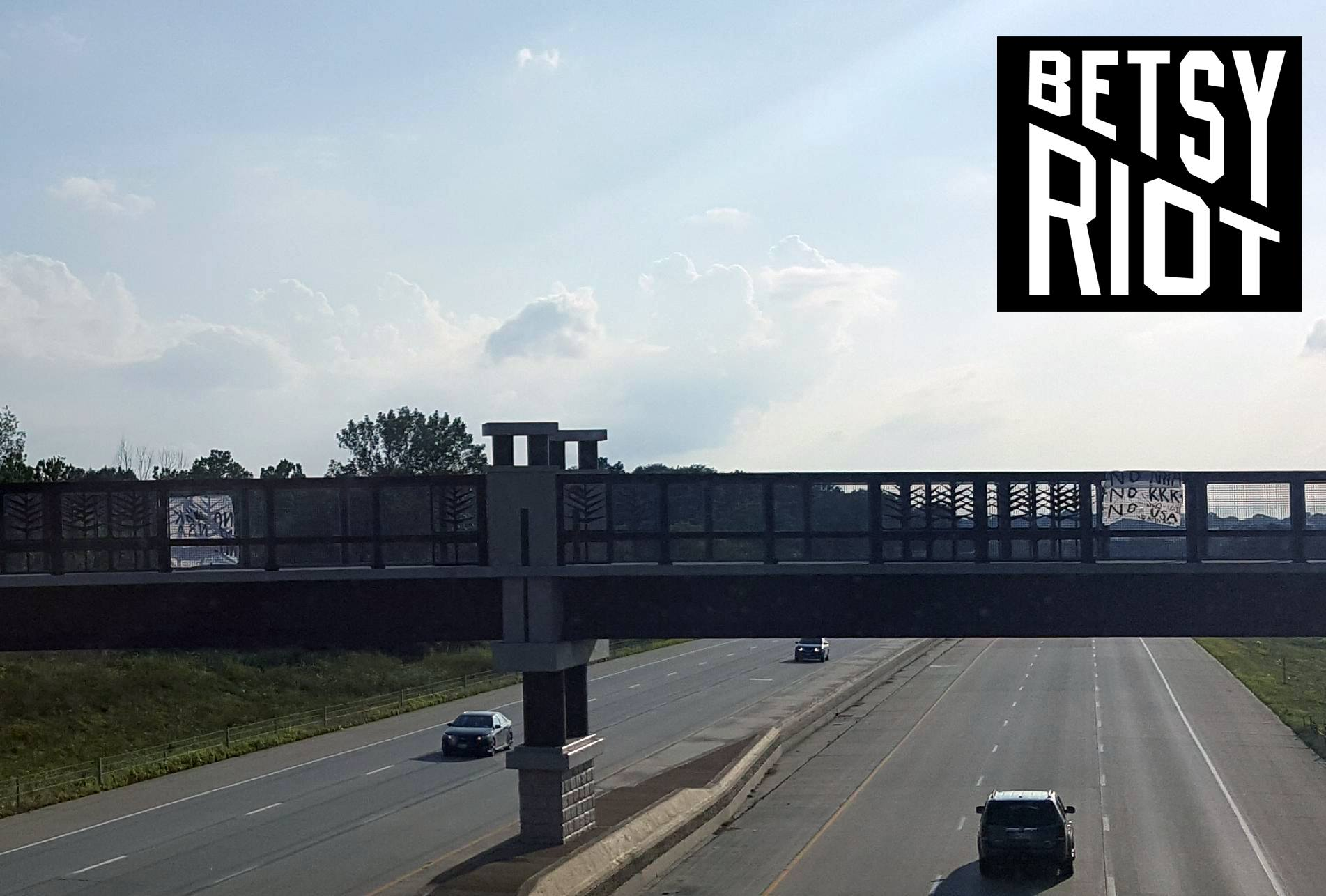 I-80 in Rural Iowa – the BETSY RIOT